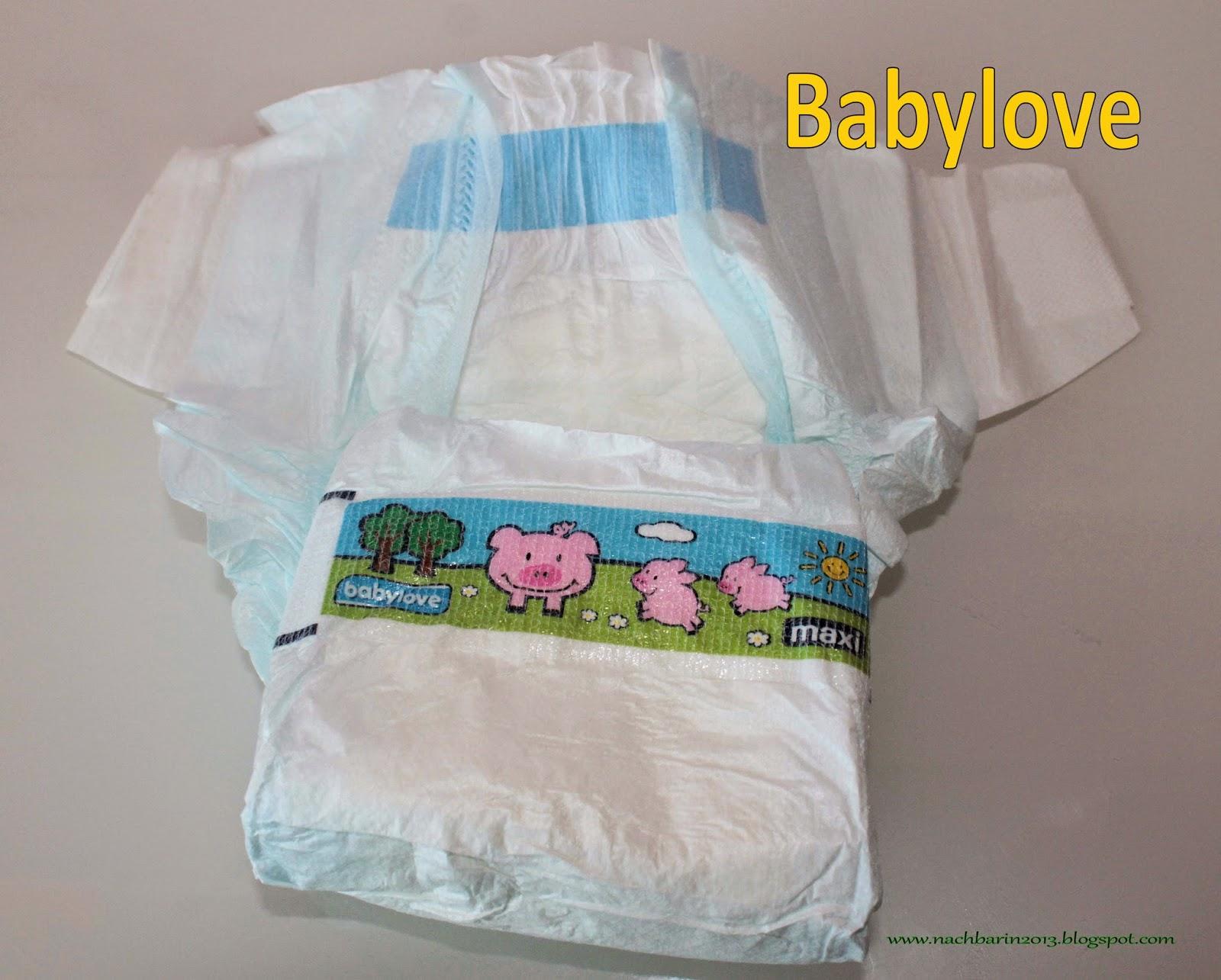 windeln babylove test