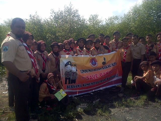Komunitas Pramuka Peduli Ajak Lestarikan Hutan Mangrove