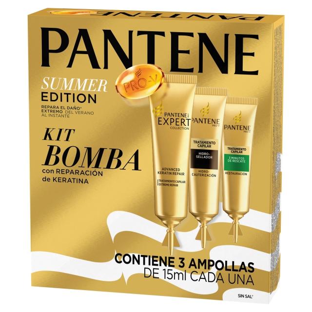kit bomba pantene summer edition