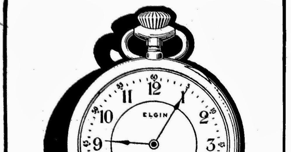 Elgintime Vintage Horological: The Elgin Pocketwatch