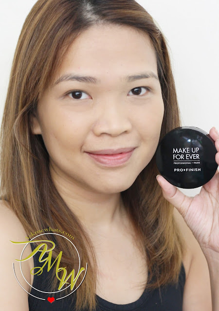 a photo of askmewhats Make Up For Ever Pro Finish Multi Use Powder Foundation Review