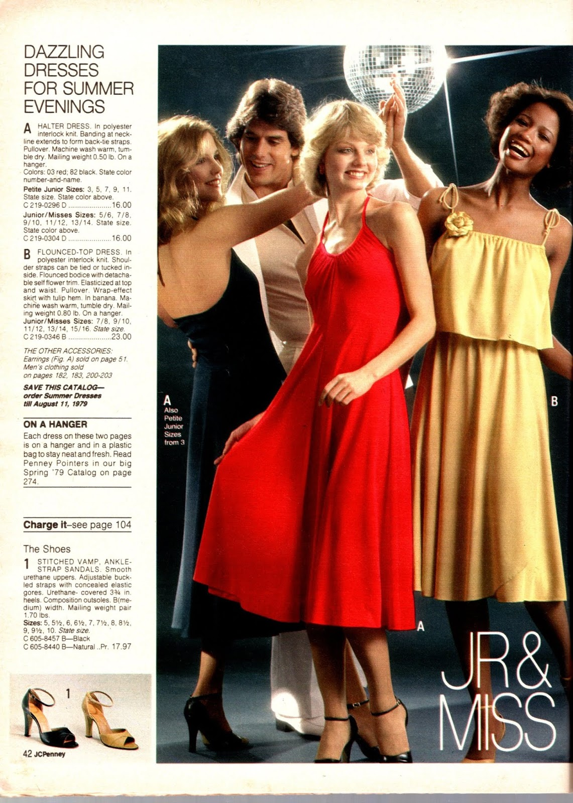 49a761abe99 Groovy JCPenney s fashions complete with a disco ball!!