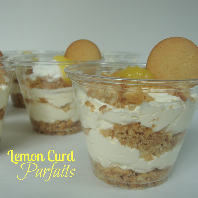 Lemon Curd Parfaits