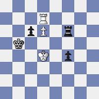 Estudio artístico de ajedrez de Vassily y Mikhail Platov, 1922, Zadachy i Etyudy 20/7/1998