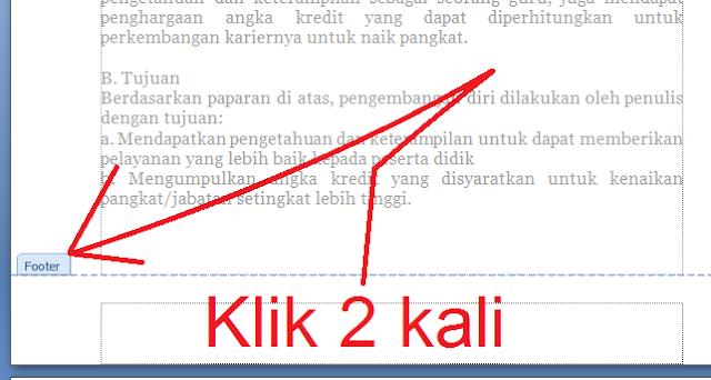 gambar Cara Memberi Penomoran Halaman Otomatis Di MS Word