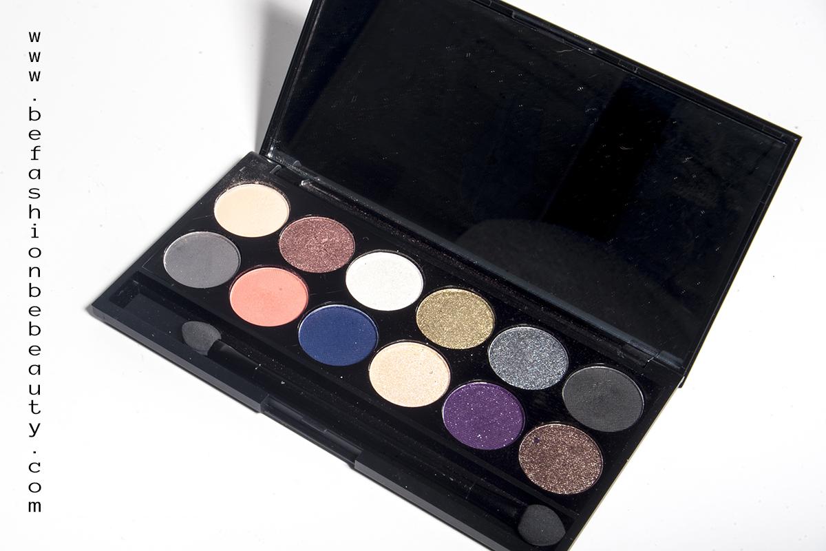 Showstoppers de Sleek MakeUP - Maquillaje con brillo