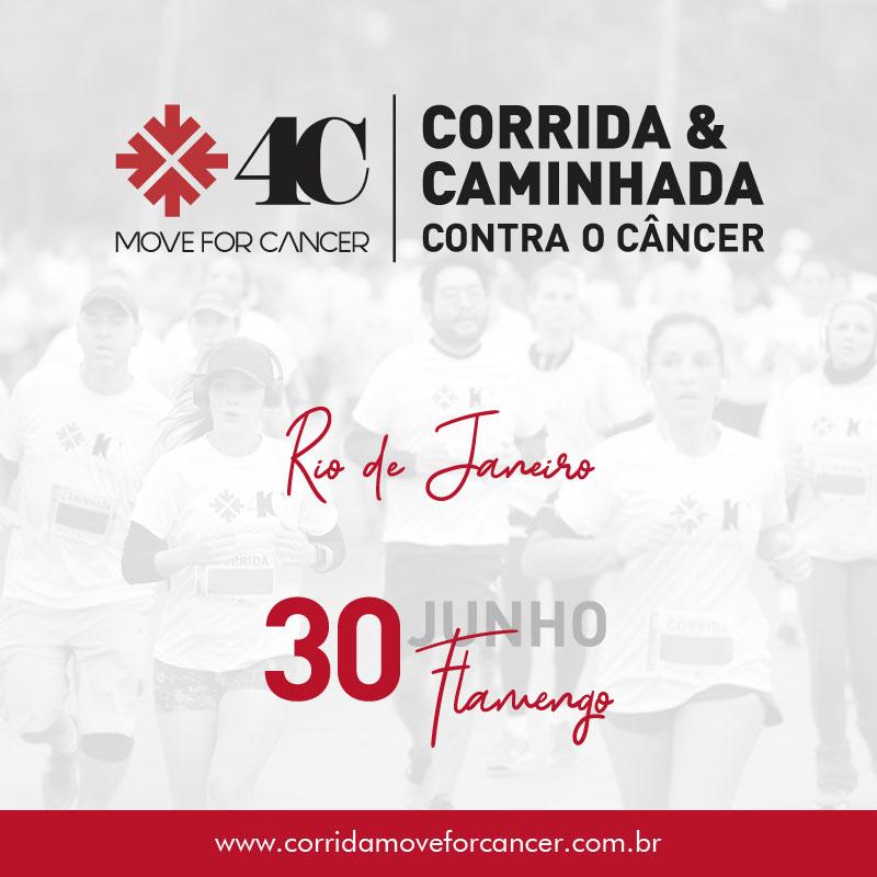 cf028f7a61a 30 06 - Corrida   Caminhada Contra o Câncer - Move 4 Cancer - Rio de  Janeiro RJ Mova-se contra o Cancer no Rio de Janeiro! Faça parte deste  movimento dia 30 ...