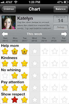 iReward Chart App | iphone, iPad, andriod, kindle, nook and windows phone app for tracking kids chores | free download or $3.99 for full version | #kids #chorechart #iphone #ipad #andriod #kindle #nook #windowsphone