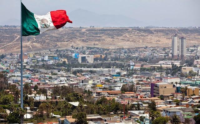 Atravessando a fronteira dos EUA para Tijuana