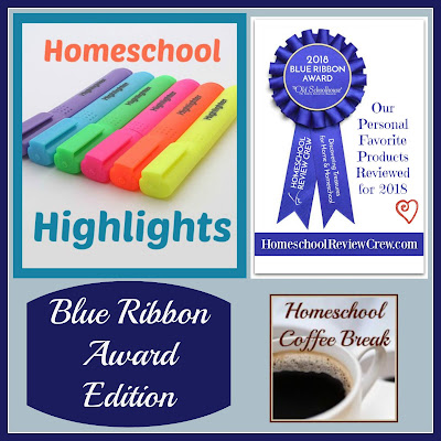 Homeschool Highlights - Blue Ribbon Award Edition on Homeschool Coffee Break @ kympossibleblog.blogspot.com