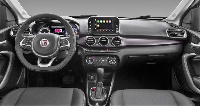 Fiat Cronos Precision 1.8 Automático - interior