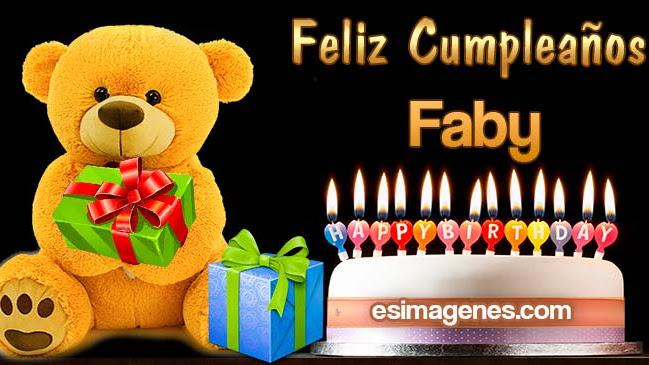 Feliz Cumpleaños Faby