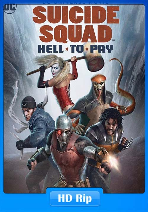 Suicide Squad Hell to Pay 2018 WEB-DL 720p | 300MB 480p | 150MB HEVC Poster