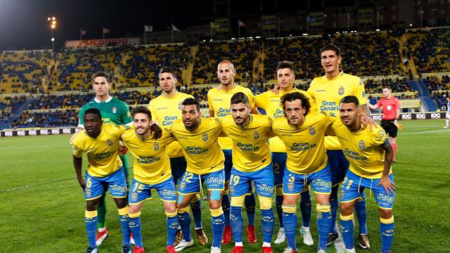 Once inicial de UD Las Palmas para recibir al Málaga CF