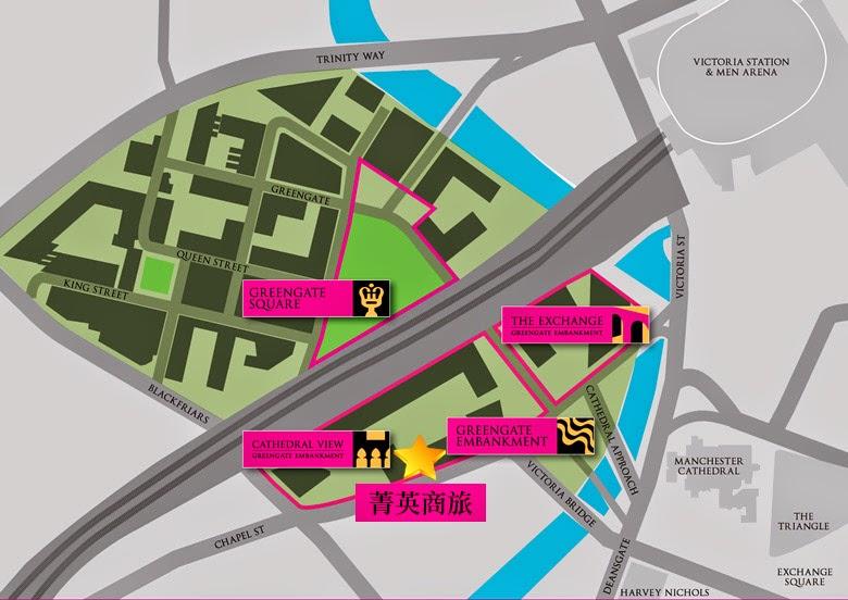 曼徹斯特房產地圖