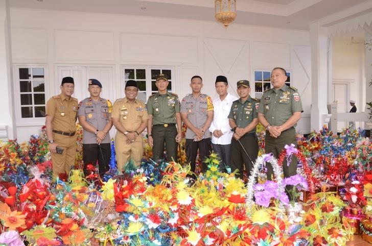 Pemkab Bone Bersam TNI dan Polri Rayakan Maulid Nabi Besar Muhammad SAW 2018