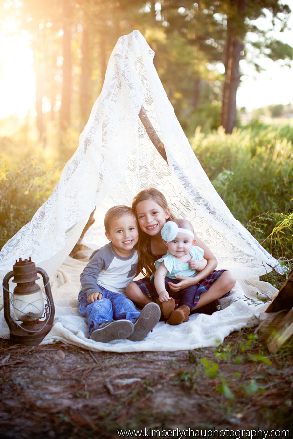 The Recollection Blog Vintage Camping Family Session