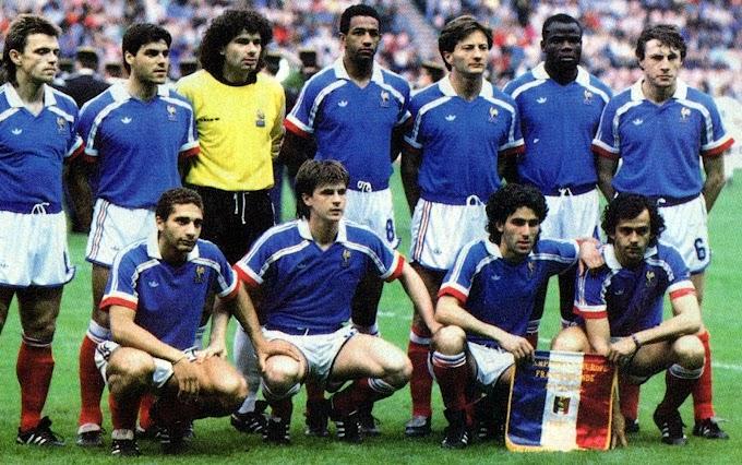 FRANCE-Islande 1987.