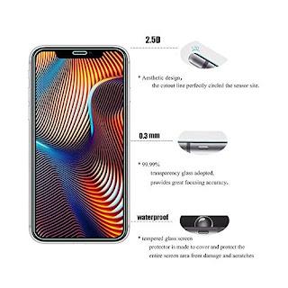 """pellicola vetro iphone xr 6.1 """""""