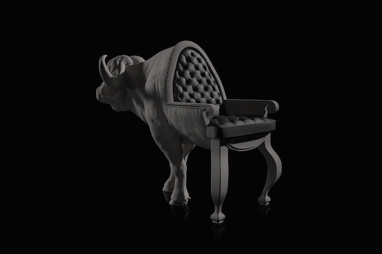 14-Buffalo-Maximo-Riera-Animal-Shaped-Furniture-Chairs-and-Sofas-www-designstack-co