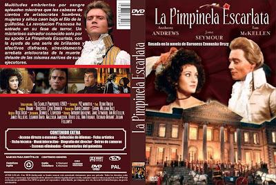 CARÁTULA, COVER, DVD: La Pimpinela Escarlata | 1982 | The Scarlet Pimpernel