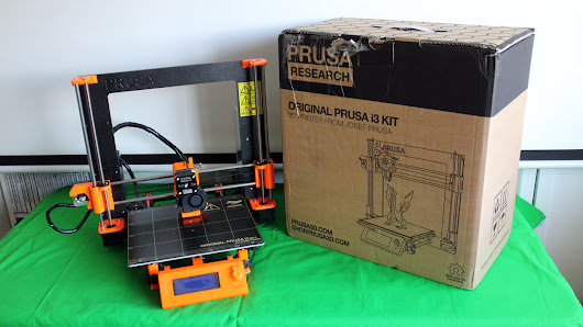 Building and using the Prusa i3 MK2 3D Printer - Dad and Daughter Kit build