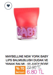 Maybelline New York Baby Lips Balm&Blush