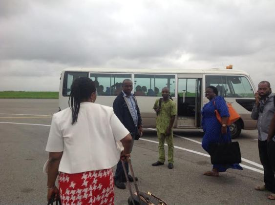 Arik Passengers Were Left On The Tarmac While Crew Boarded A Bus And Left