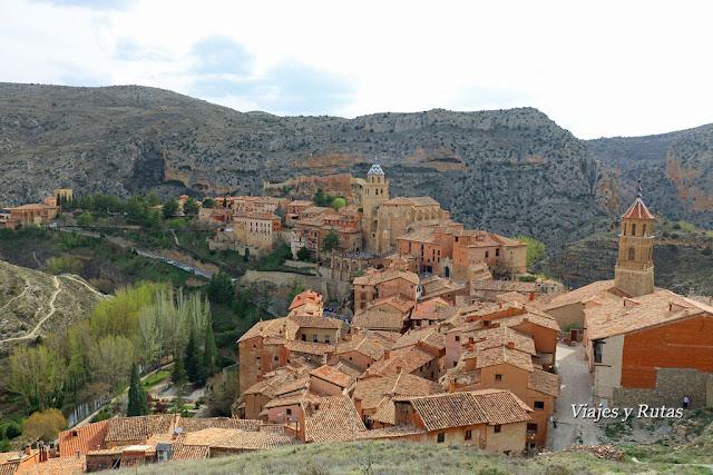 Vistas de Albarracín desde la muralla.