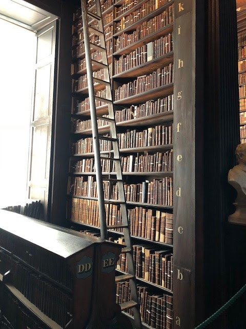 Long Room at the Book of Kells Trinity College