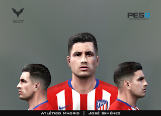 PES 6 Faces José Giménez by Adam & The Kid Facemaker