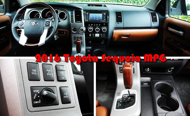 2016 Toyota Sequoia Sr5 Inside