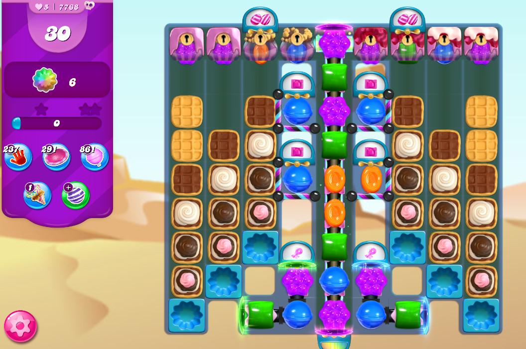 Candy Crush Saga level 7768