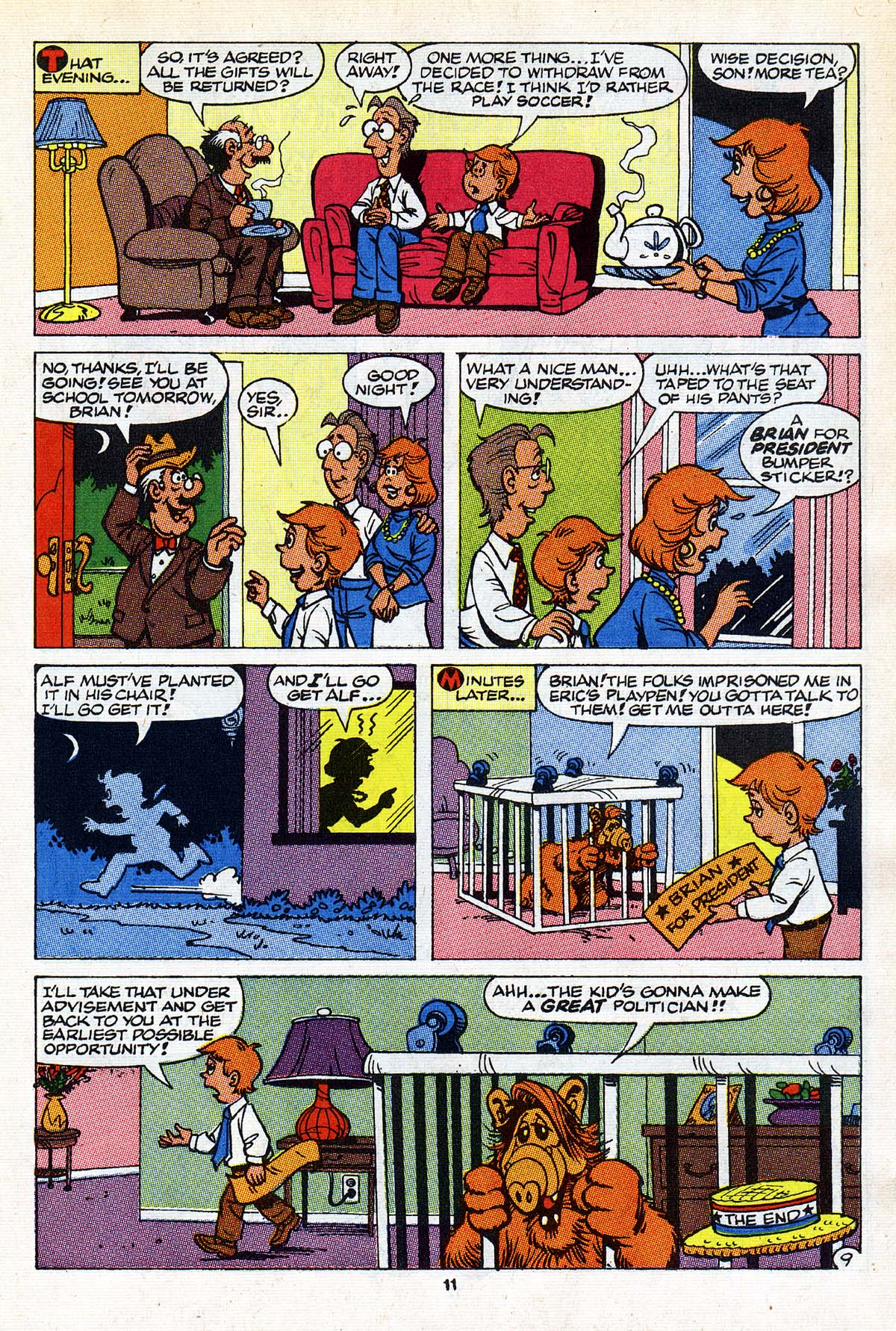 Read online ALF comic -  Issue #26 - 10