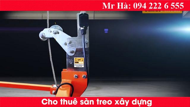 Chốt an toàn sàn gôn công nghệ Tây Ba Nha trên các dòng sàn treo Gondola MX