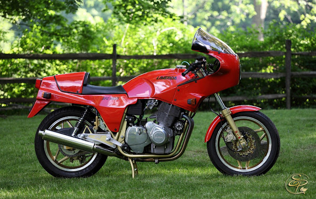 Laverda SFC 1000 Tail Look