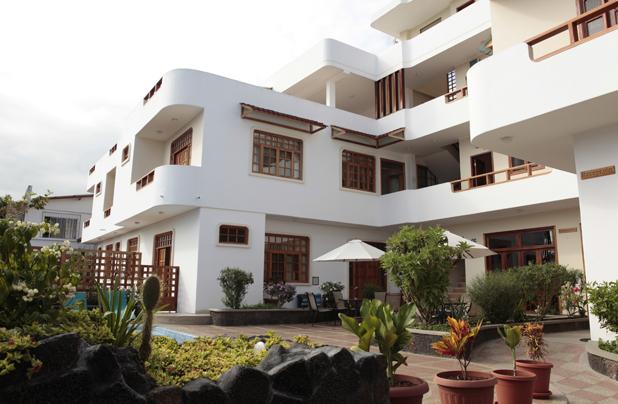 Hoteles en Galápagos Ecuador - Hotel Villa Laguna