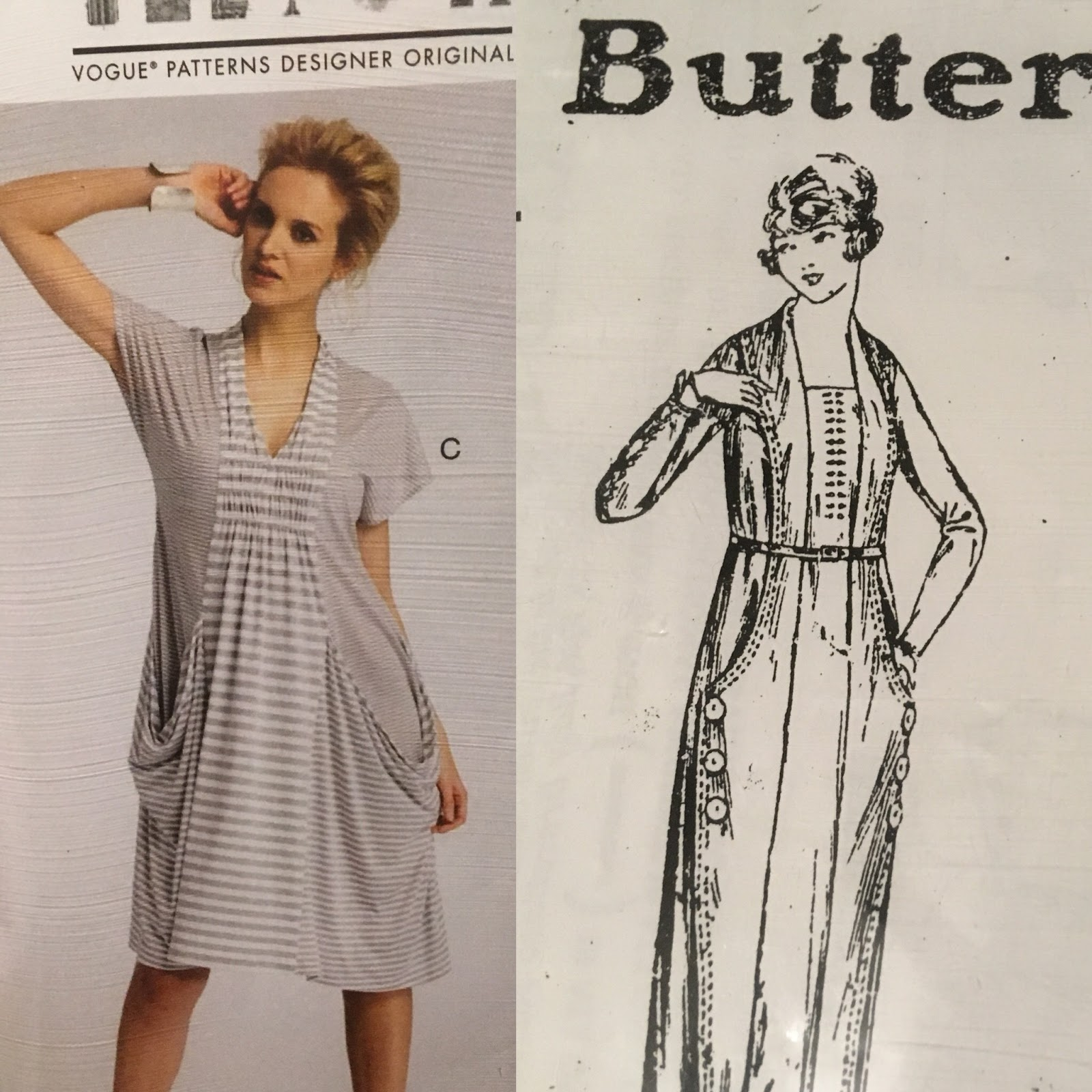 ernie k designs: Reproducing Past Patterns Butterick #2307