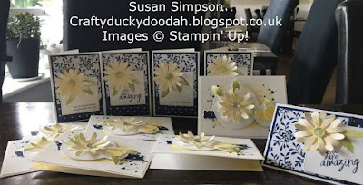 Stampin' Up! UK Independent  Demonstrator Susan Simpson, Craftyduckydoodah!, Daisy Delight, May 2017 Coffee & Cards Project, Supplies available 24/7 from my online store,