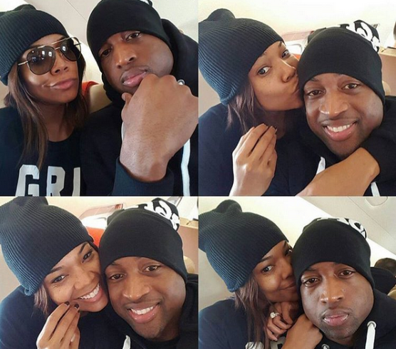 Gabrielle Union Shares Cute Selfies With Husband, Dwyane Wade-4217