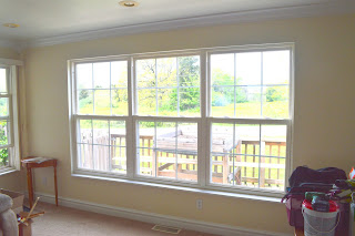 Adding Casing To Drywall Return Windows Bumbleberries