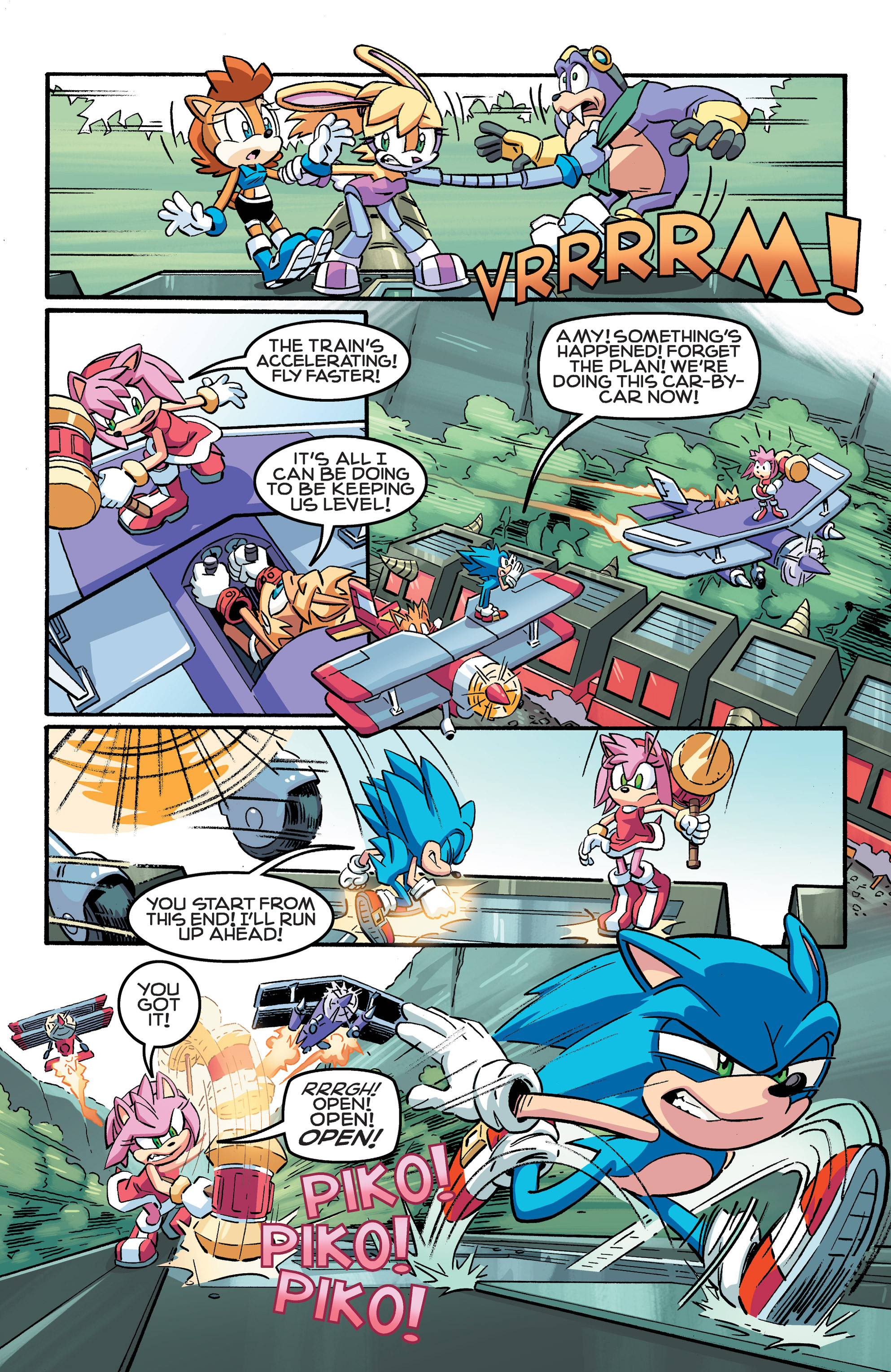 Read online Sonic The Hedgehog comic -  Issue #258 - 8