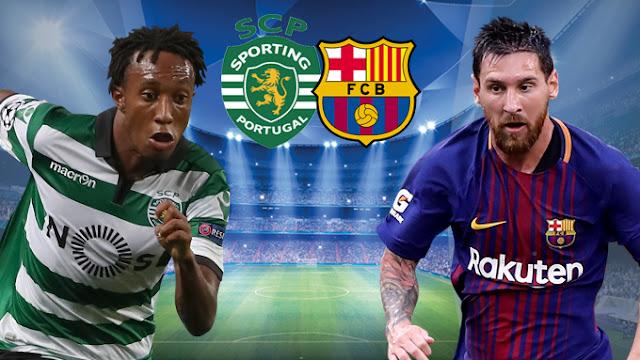 برشلونة Vs سبورتينج لشبونة البث المباشر Sporting-Lisbon-vs-Barcelona