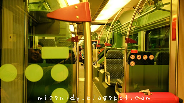 cara naik KLIA express