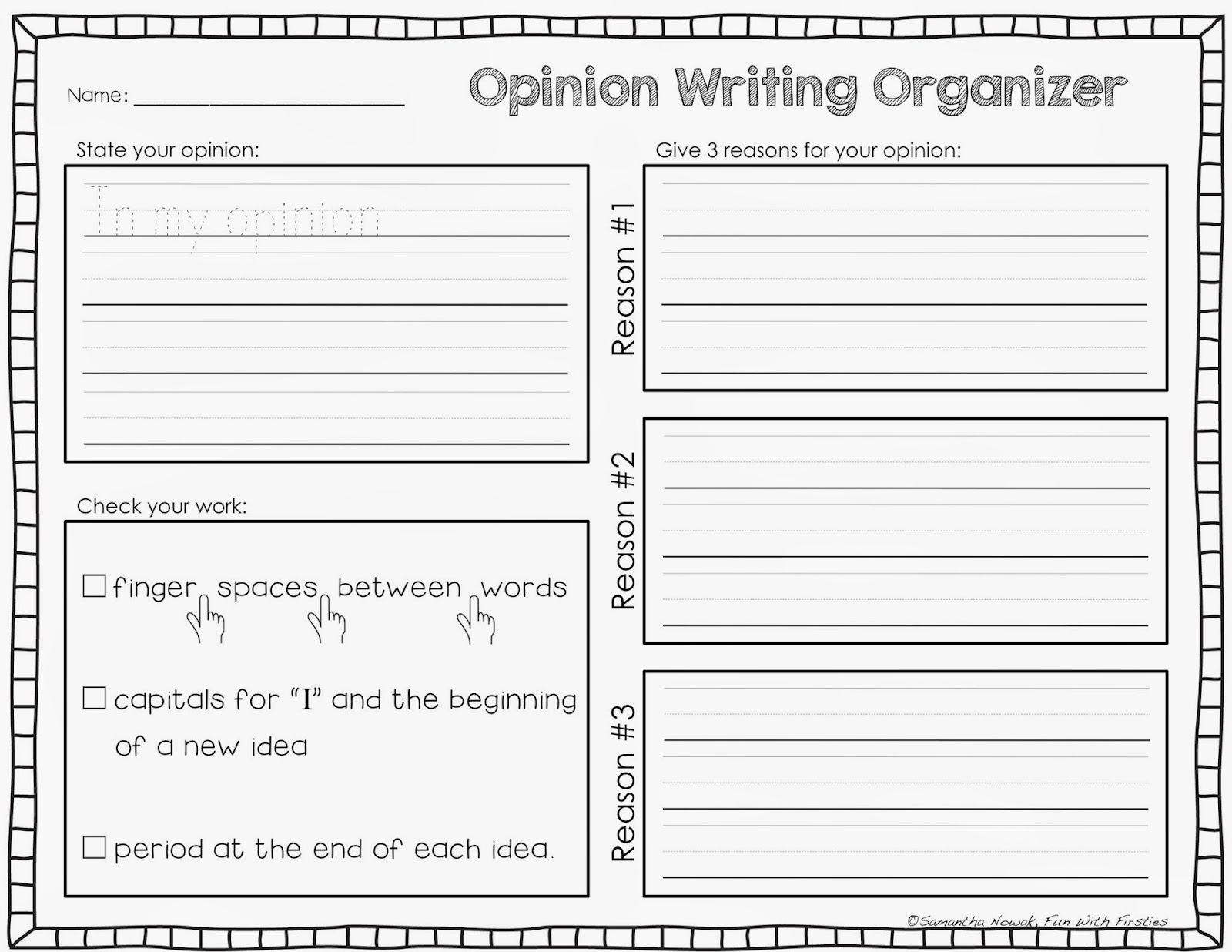 Help me write my research paper graphic organizer