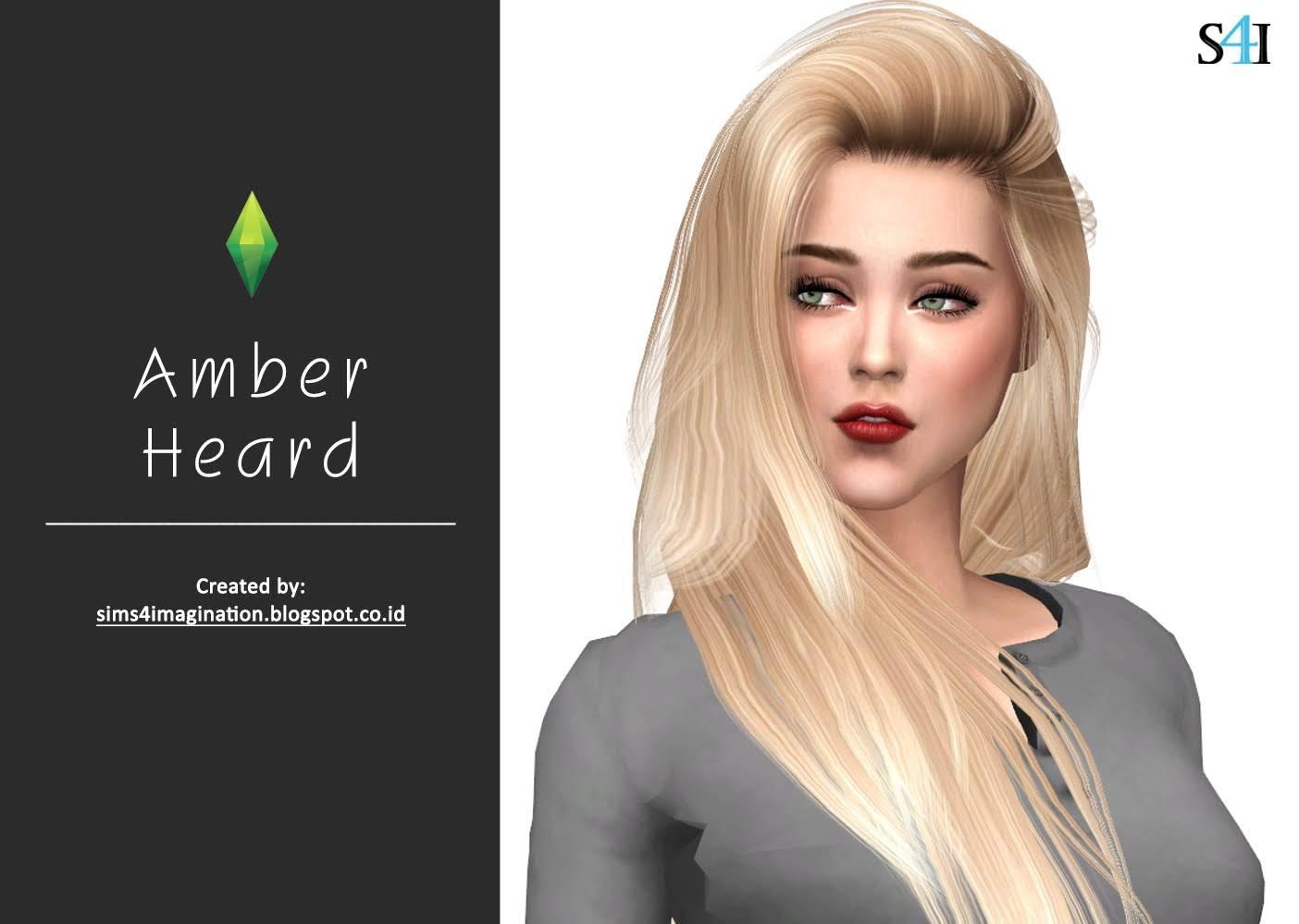 Amber Jensen Porn Star my sims 4 cas: amber heard - imagination sims 4 cas