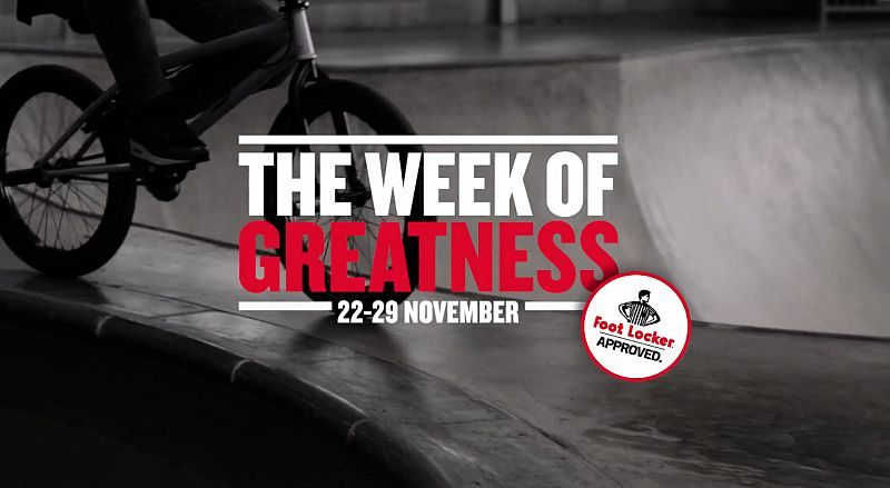 Foot Locker Week of Greatness  - Atomlabor Blog - Sneaker  Fashion