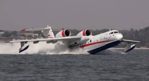 Pesawat amfibi canggih Beriev Be-200 Milik Rusia yang akan dibeli Indonesia