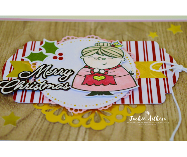 Stampin' Up!, Christmas Cards, Sincerely Santa Project Kit, Signs of Santa stamp set, Blended Seasons, Mrs Claus, Christmas Gift Tags