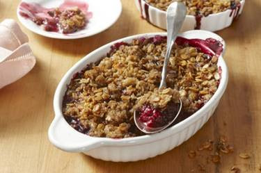 Viki's Granola Mixed Berry Crisp Recipe